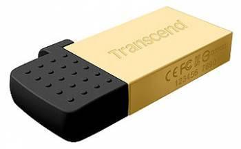 Флеш диск 8Gb Transcend Jetflash 380 USB2.0 золотистый