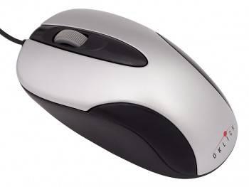 Мышь Oklick 151M белый / черный