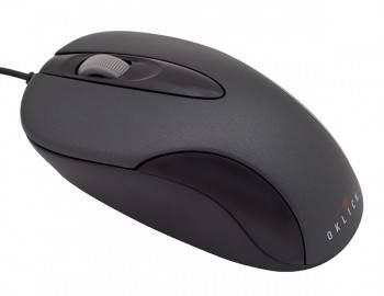 Мышь Oklick 151M черный / серый