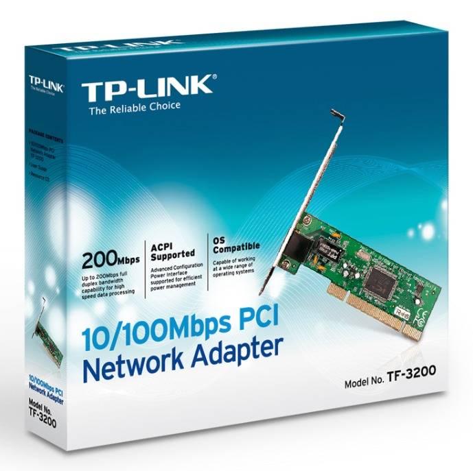 Сетевой адаптер Ethernet TP-Link TF-3200 RJ-45 - фото 2