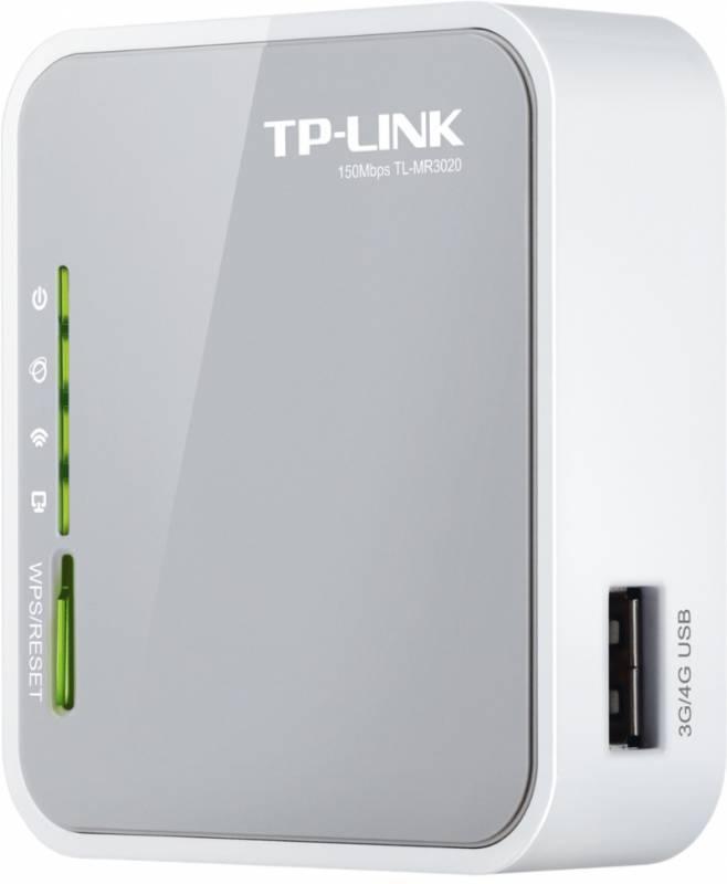 Маршрутизатор беспроводной TP-Link TL-MR3020 белый - фото 2