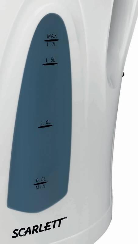 Чайник электрический Scarlett SC-EK14E01 белый - фото 3