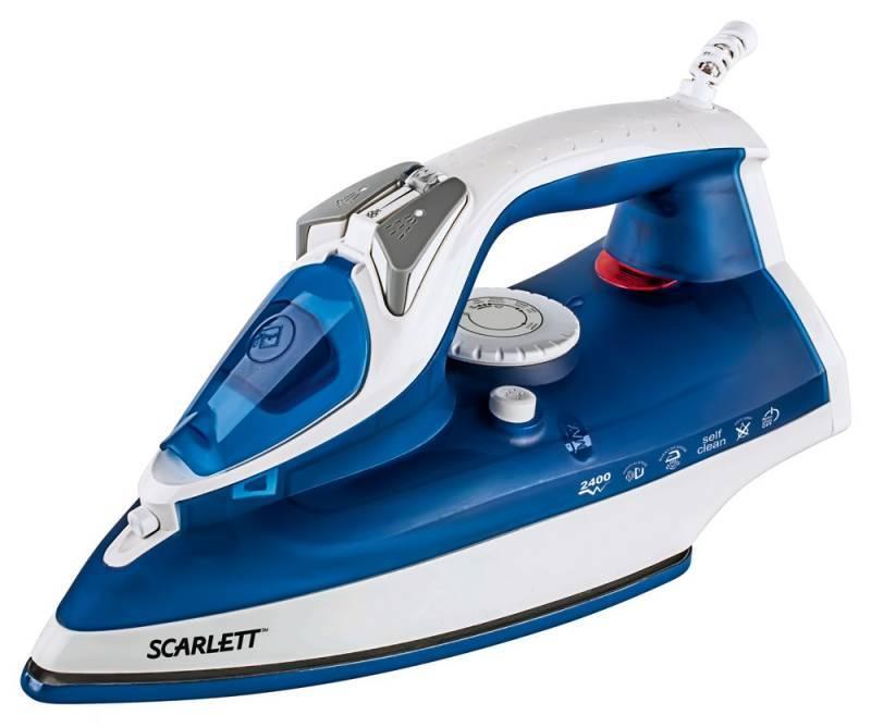 Утюг Scarlett SC-SI30E01 синий/белый - фото 1