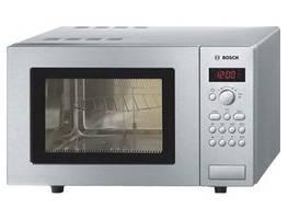 СВЧ-печь Bosch HMT 75G451R серебристый (HMT75G451R)