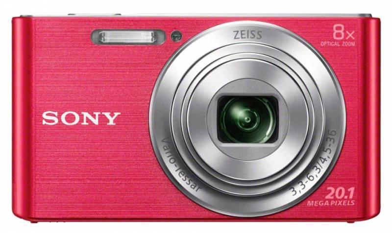 Фотоаппарат Sony Cyber-shot DSC-W830 розовый - фото 1