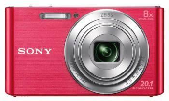 Фотоаппарат Sony Cyber-shot DSC-W830 розовый