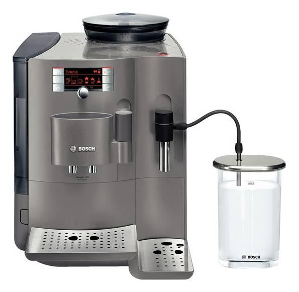Кофемашина Bosch TES 71525 RW серебристый - фото 1
