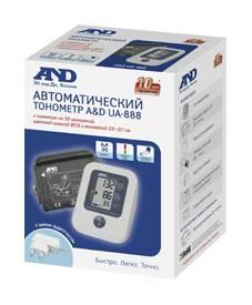 Тонометр автоматический A&D UA-888AC M-L - фото 3