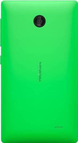 Смартфон Nokia X Dual sim зеленый - фото 2
