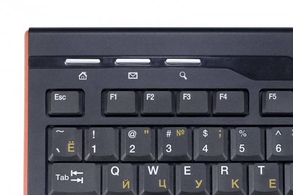 Клавиатура Oklick 420M черный - фото 4