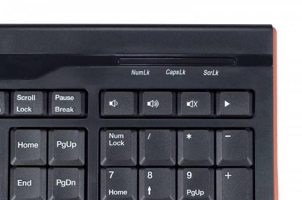 Клавиатура Oklick 420M черный - фото 5