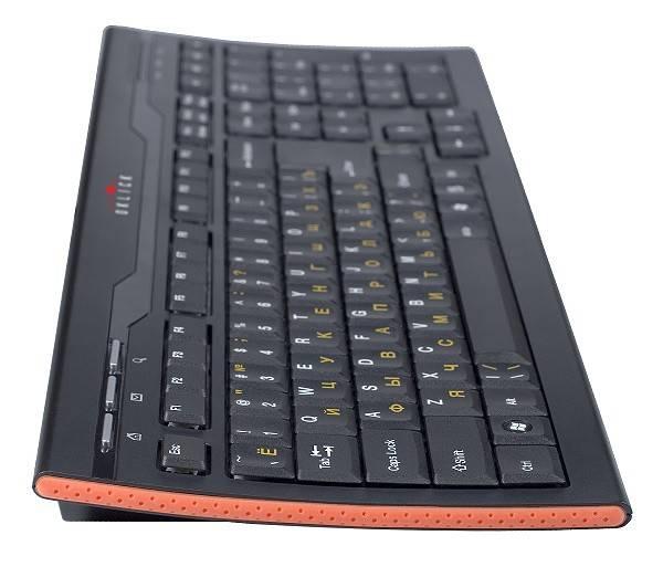 Клавиатура Oklick 420M черный - фото 3