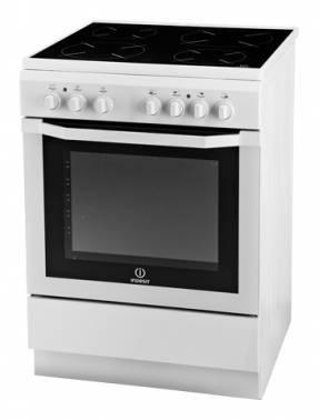 Плита электрическая Indesit I6VSH2(W) / RU белый