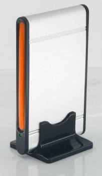 Внешний корпус для HDD AgeStar SUB2A1 SATA серебристый