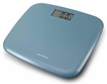Весы напольные электронные Supra BSS-6050 голубой
