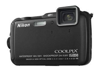 Фотоаппарат Nikon CoolPix AW120 черный - фото 2