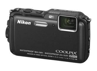 Фотоаппарат Nikon CoolPix AW120 черный - фото 3