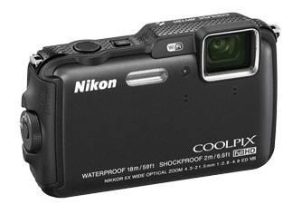 Фотоаппарат Nikon CoolPix AW120 черный - фото 4