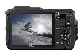 Фотоаппарат Nikon CoolPix AW120 черный - фото 5