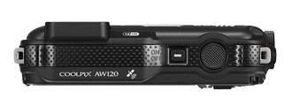 Фотоаппарат Nikon CoolPix AW120 черный - фото 6
