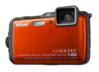 Фотоаппарат Nikon CoolPix AW120 оранжевый - фото 2