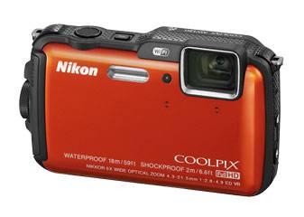 Фотоаппарат Nikon CoolPix AW120 оранжевый - фото 3