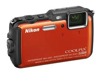 Фотоаппарат Nikon CoolPix AW120 оранжевый - фото 4