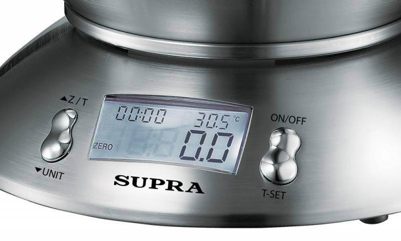 Кухонные весы Supra BSS-4095 серебристый (1258) - фото 2