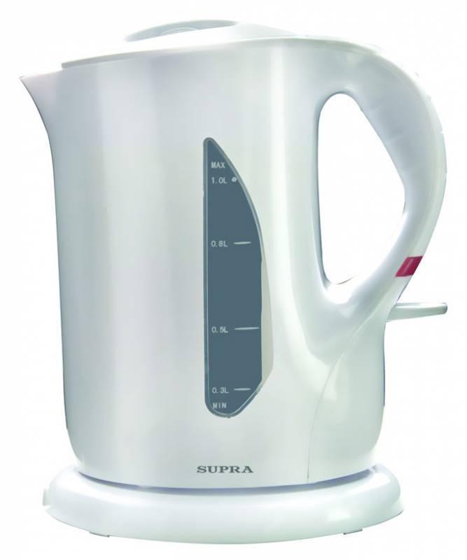 Чайник электрический Supra KES-1001 белый (5123) - фото 1
