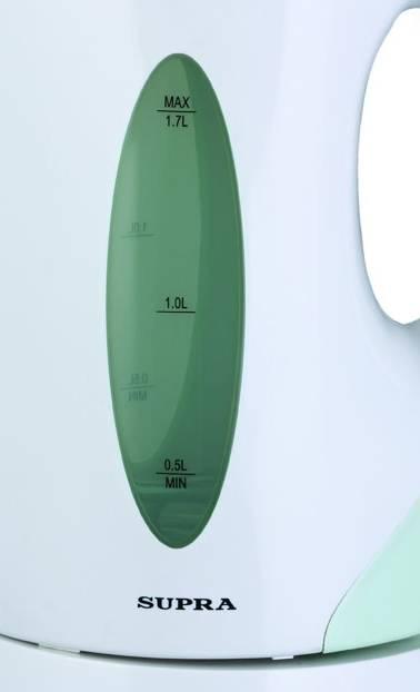 Чайник электрический Supra KES-1702 белый/фисташковый (1514) - фото 2