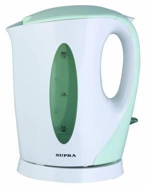 Чайник электрический Supra KES-1702 белый/фисташковый (1514)