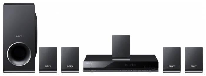 Домашний кинотеатр Sony DAV-TZ140 черный/черный - фото 1