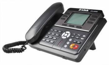 Телефон IP D-Link DPH-400SE черный (DPH-400SE / F4)