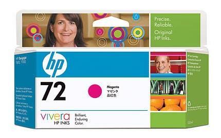 Картридж струйный HP №72 C9372A пурпурный - фото 2