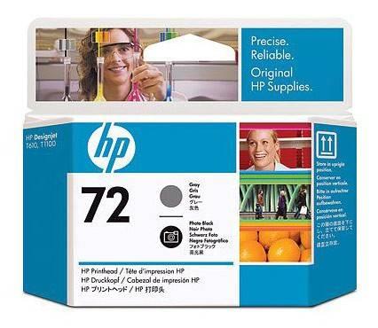 Картридж струйный HP №72 C9380A фото черный/серый - фото 1