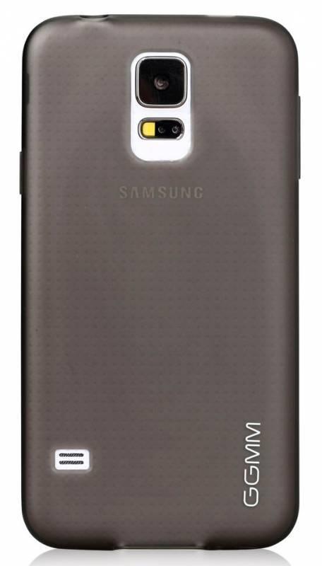 Чехол GGMM Pure-S5, для Samsung Galaxy S5, черный (SX02901) - фото 1