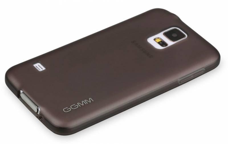 Чехол GGMM Pure-S5, для Samsung Galaxy S5, черный (SX02901) - фото 4