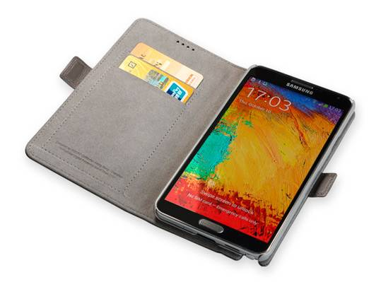Чехол GGMM PocketBook-SN3 Coffee (SX2704), для Samsung Galaxy Note 3, коричневый (SX2704) - фото 5