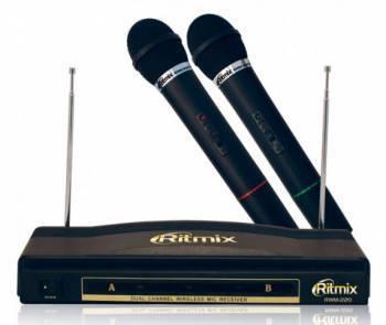 Микрофон Ritmix RWM-220 черный