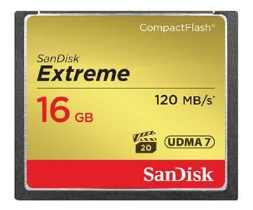 Карта памяти CF 16Gb Sandisk SDCFXS-016G-X46 - фото 1