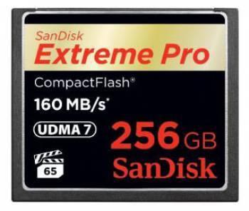 Карта памяти CF 256Gb Sandisk Extreme Pro SDCFXPS-256G-X46