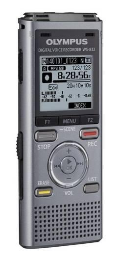 Диктофон 4Gb Olympus WS-832 серый - фото 1