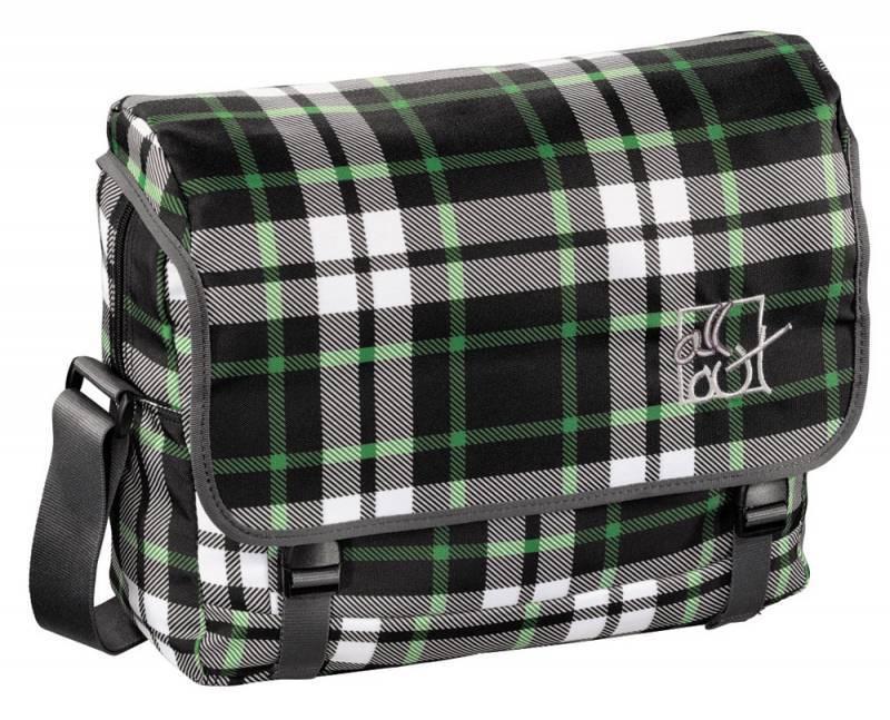 Сумка All Out Barnsley Forest Check серый/зеленый/черный (00129228) - фото 1