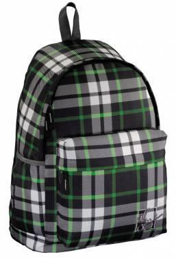 Рюкзак All Out Luton Forest Check серый/зеленый/черный (00129225)