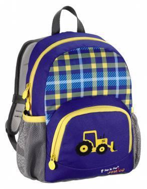 Рюкзак детский Step By Step Junior Dressy Excavator синий / желтый