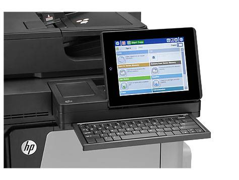 МФУ HP Color LaserJet Enterprise Flow MFP M680z - фото 7
