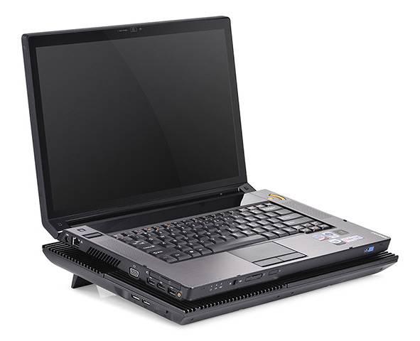 """Подставка для ноутбука 17"""" Deepcool MULTI CORE X8 черный (MULTICOREX8) - фото 6"""