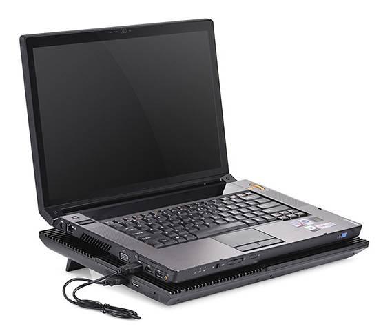 """Подставка для ноутбука 17"""" Deepcool MULTI CORE X8 черный (MULTICOREX8) - фото 8"""