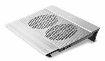 "Подставка для ноутбука 17"" Deepcool N8 серебристый"