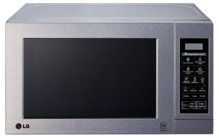 СВЧ-печь LG MS2044V серебристый - фото 1